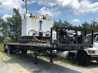 Lot 3 - 2009 MRL Skid Mounted 8,000lb Pre Melt Kettle, Model 4K SET s/n 09508 (Buyer is responsible for