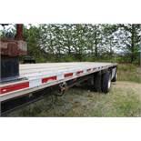 1995 Fontaine 48' Spread Axle Trailer, Aluminum Bed, Steel Frame, Model LFTW-5-8048WSAK