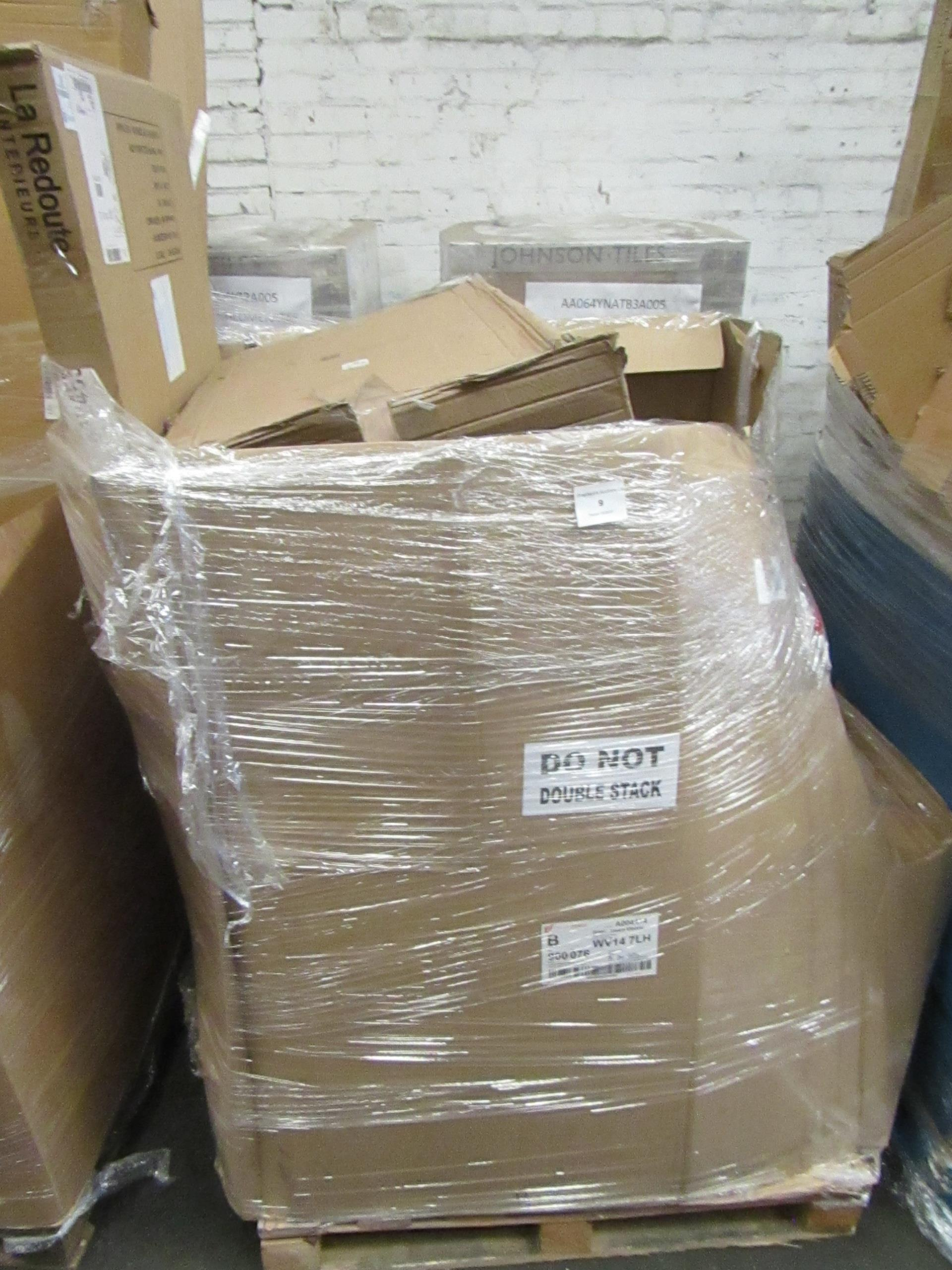 | 1X | PALLET OF LA REDOUTE B.E.R FURNITURE, UNMANIFESTED, TYPICAL ITEMS INCLUDE SIDE BOARDS AND