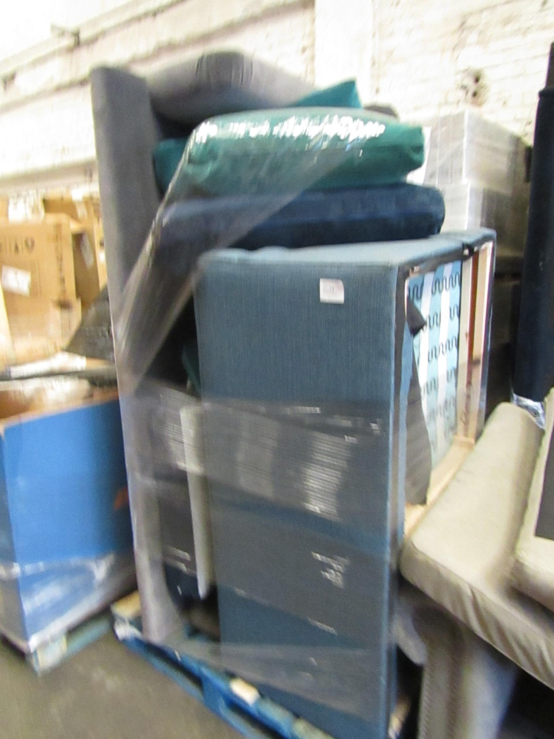 | 13X | PALLETS OF SWOON BER SOFAS, THESE ARE CUSTOMER RETURNS SO COULD HAVE MINOR DAMAGE, MAJOR - Image 8 of 11