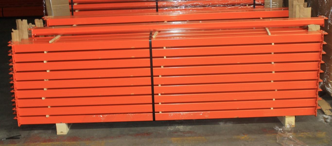 """Lot 45 - NEW 120 PCS OF 96"""" X 4"""" TEARDROP BEAM- 4000 LBS CAPACITY/PAIR"""