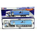 Corgi 1/50 Diecast Truck Issue Comprising No. CC14142 DAF 105 Fridge Trailer in livery of
