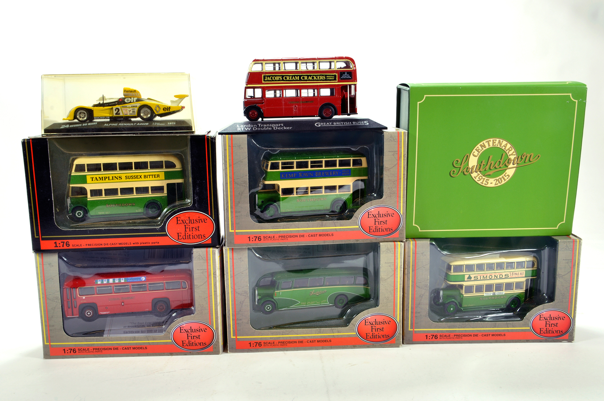 Lot 1232 - A group of diecast comprising mainly EFE and others. NM in Boxes. (8)
