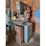 ROCKWELL 20'' VERTICAL BANDSAW, 21'' THROAT, 20'' X 24'' TABLE