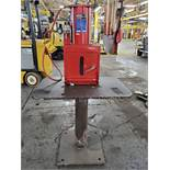 SEALEY 2.2 TON PNEUMATIC PAINT CAN CRUSHER, MODEL HCC08, 1-GALLON CAN CAPACITY