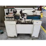 EMCO MAXIMAT SUPER 11 HORIZONTAL ENGINE LATHE, 55-2,200 RPM, 3' BED, 5 1/2'' 3-JAW CHUCK, TOOL POST,