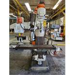 BRIDGEPORT VERTICAL MILLING, SERIES 1, 2 HP, VARIABLE SPEED, 2-AXIS DRO CONTROL, POWER TABLE,