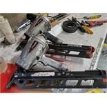 (3) PASLODE POWER MASTER PLUS PNEUMATIC NAIL GUNS, MODEL F350S, 2-3''