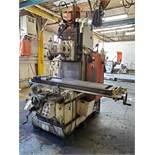 OKK VERTICAL MILLING MACHINE, MODEL MH-3P11, S/N 1818, 50CV TOOLING, NEWALL TOPAZ DRO 3-AXIS DRO
