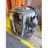 LINCOLN IDEALARC R3R-500 VARIABLE VOLTAGE DC ARC WELDER ON CASTER CART