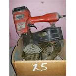 Hilti Coil Nailer with Box of Nails