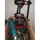 """Power Tool Group: Makita 4"""" Disc Grinder, Die Hard Cordless Drill and More Extra Details: Makita"""