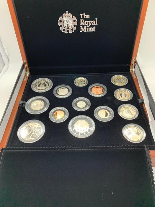 Lot 20 - The 2017 Royal Mint United Kingdom Premium Proof Coin set