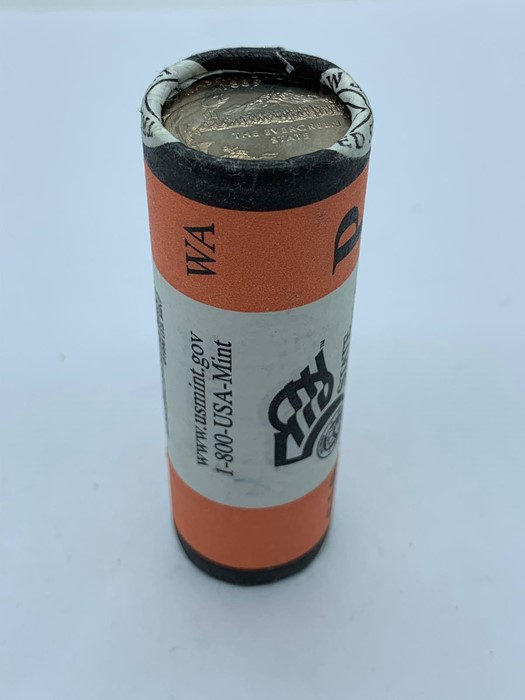 Lot 15 - A roll of 2007 50 State Quarters from the United States Mint