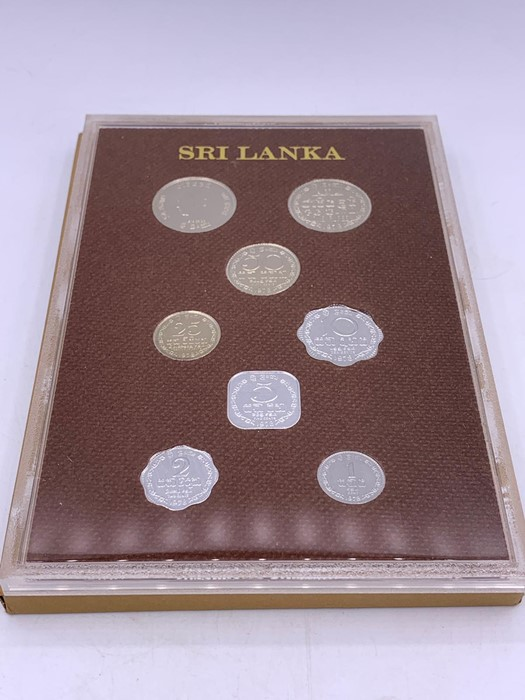 Lot 59 - Commonwealth coin proof set for Sri Lanka 1978