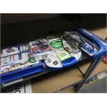 Lot Dremel and 3 bins of accessories. Hit # 2203061. Bldg. 1 Office Asset Located at 820 S Post Rd,