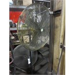 """36"""" Pedestal Fan. Hit # 2202892. Bldg.1 Maint. Shop. Asset Located at 820 S Post Rd, Indianapolis,"""
