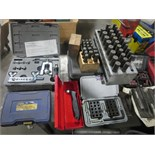 Tools. Lot (Qty 12) Consisting of (1) Hole Center Punch set, (2) Number punch sets, (1) Hole repair