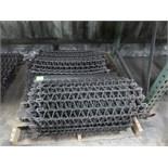 "GOFF 8 wheel Shot Blast parts.. 27"" Conveyor Chain, Round wire belt made of Manganese material"