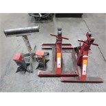 Support Stands & Jack Stand. Lot (Qty 5) Consisting of (2)7700lb Jack Stands & (3) Support Stands.