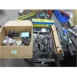 Assorted Tools. Lot (Qty 9) Consisting of (1) Air Riveter, (1) Super Hand Air File, (1) AC TC20, (