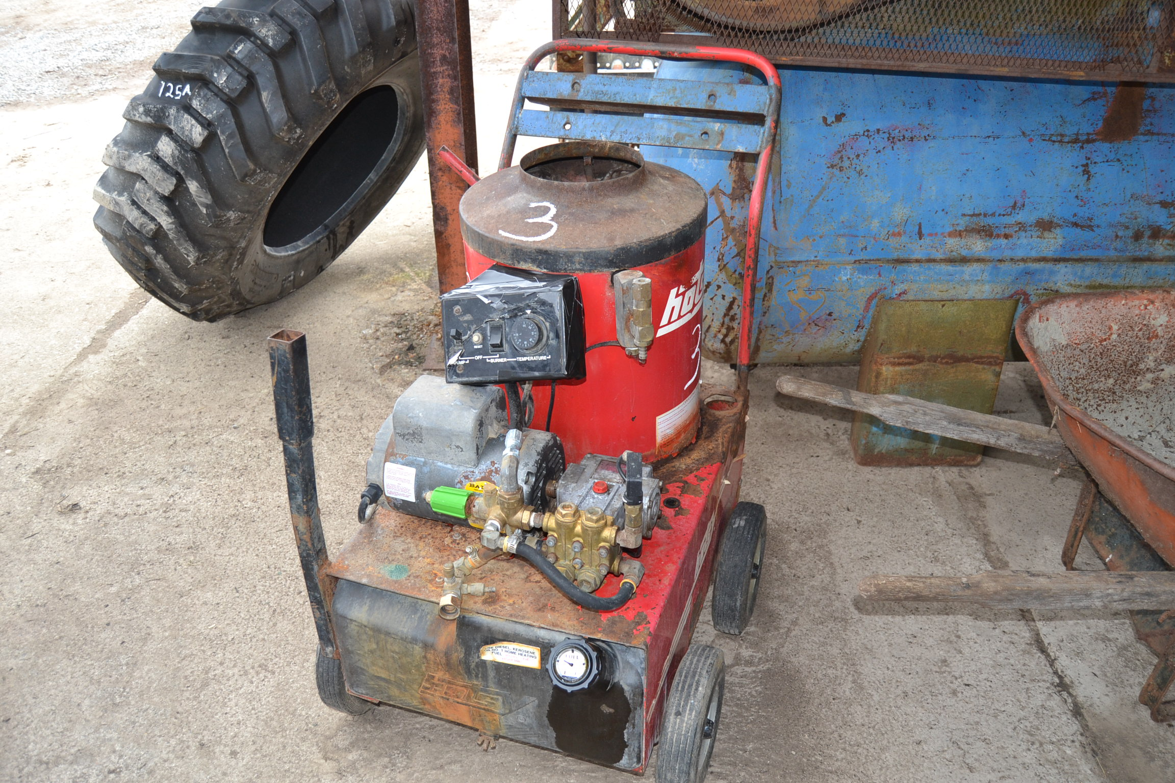 Lot 3 - HOTSY ELECTRIC PRESSURE WASHER