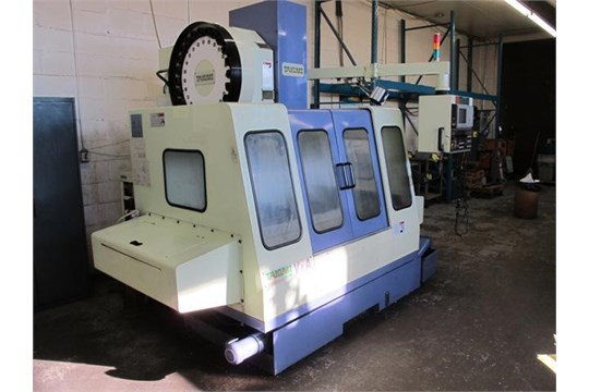 1998 takumi v8a cnc vertical machining centre high speed spindle rh bidspotter com Mazak CNC Fadal CNC