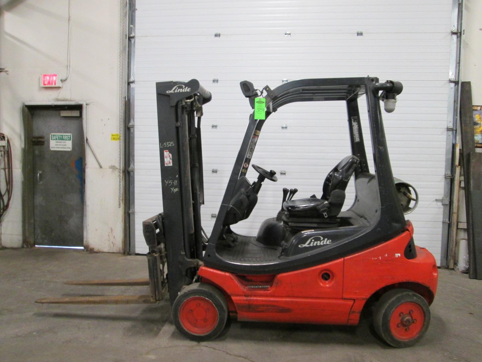 2006 linde model h20ct 03 forklift lpg propane 4000lbs capacity rh bidspotter com Owner's Manual Service ManualsOnline