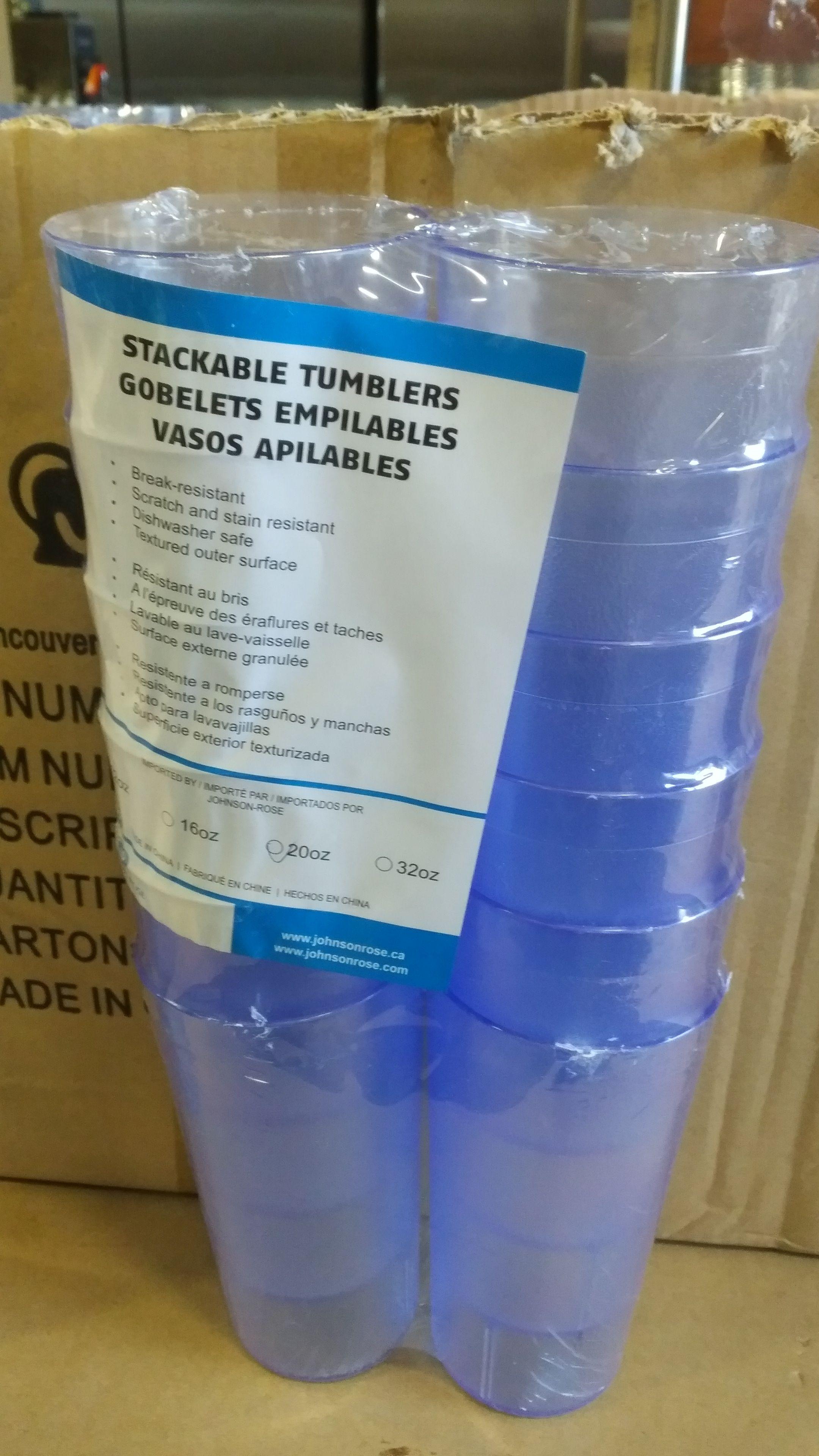 Lot 42 - 20oz Blue Tumblers - Lot of 144