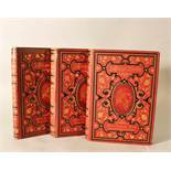 Lessings Werke, edited by Heinrich Laube, published by Sigmund Bensinger, 19th Century. 5 Volumes in