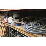 Contents of Racking To Include - Cable Reels, Tools & Various Other Components (excluding contents