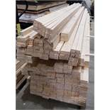 Approximately 500 Lengths of Softwood. 450cm x 4.5cm x 2.5cm (Requires Manual Loading) (Located