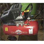 Clarke Panther 10/500 Compressor (Located Northampton, See General Notes for More Details)