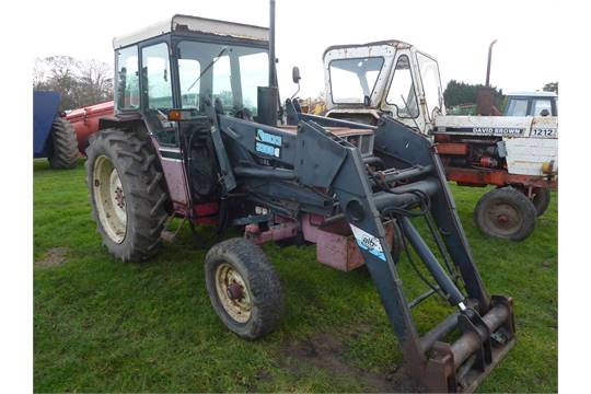 4750 International 584 Tractor C W Quicke 3360 Ext Loader