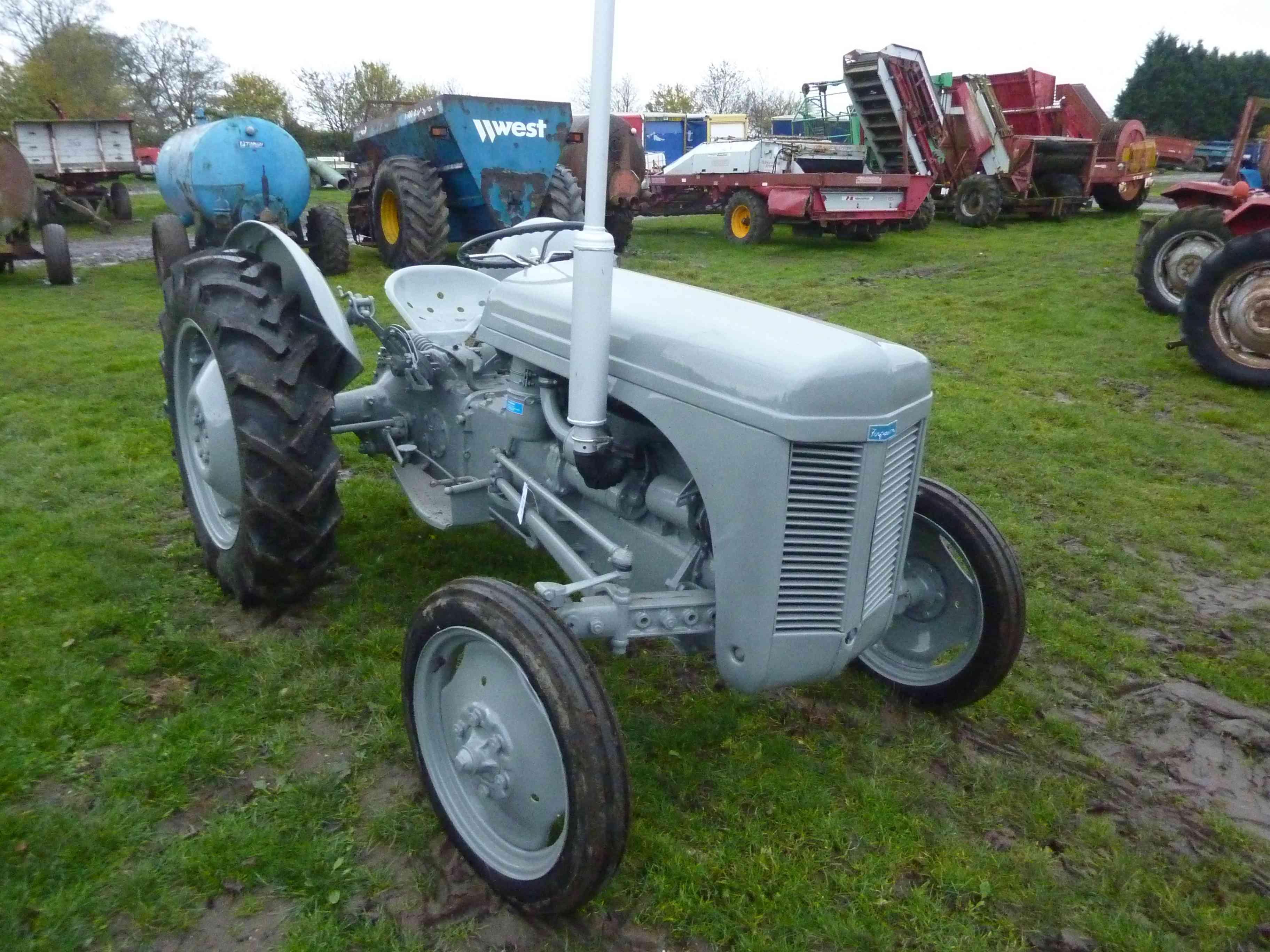 Ferguson Te20 Parts : Ferguson te diesel tractor resprayed and many new
