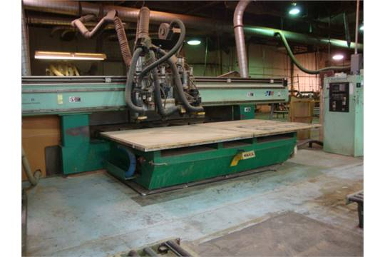 CNC ROUTER, NORTHWOOD MDL  26NW266, new 1997, Allen Bradley