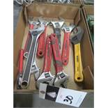 Adjustable Wrenches (SOLD AS-IS - NO WATRRANTY)