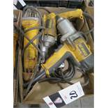 DeWalt Angle Grinder, Drill and Impact (3) (SOLD AS-IS - NO WATRRANTY)