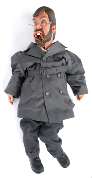 Lot 229 - 1984-1996 Gerry Adams 'Spitting Image' puppet. A cariacture puppet of Gerry Adams complete with