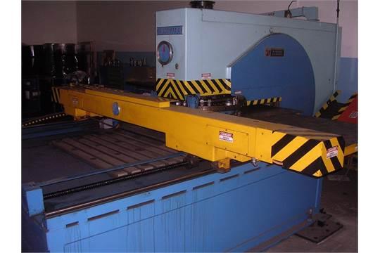 WIEDEMANN 25-TON MODEL S-2550 CNC TURRET PUNCH PRESS