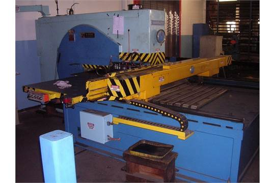 WIEDEMANN 25-TON MODEL S-2550 CNC TURRET PUNCH PRESS
