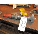 Lot of (1) Pneumatic Impact Gun with Pneumatic Straight Grinder