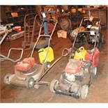 Lot of (2) Craftsman Push Lawn Mowers