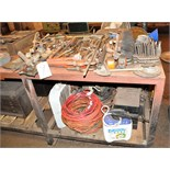 Lot of Hand Tools On/Under Bench