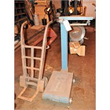 Lot-Portable Scale with 2-Wheel Hand Cart