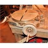 "Bridgeport 15"" Diameter Manual Indexing Rotary Table"