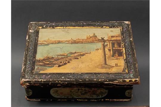 Dipingere Portagioie Di Legno : Portagioie in legno con foglia argento dipinto a mano da