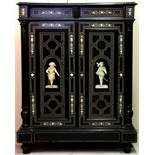 Piccola credenza intarsiata - A small inlaid sideboard