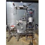 Accraply/Barry Wehmiller RF150 High Speed Rotary Shrink Sleeve Labeler, w/Axon Shrink Steam Tunnel