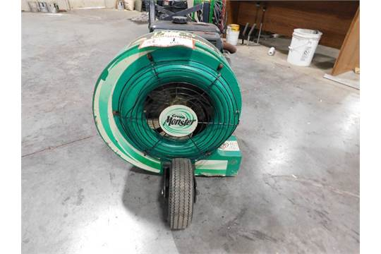 lesco walk behind wiring diagram lesco green monster walk behind lawn leaf blower  8hp kawasaki gas  lesco green monster walk behind lawn